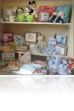 Extensive range of gifts for tots and youngsters